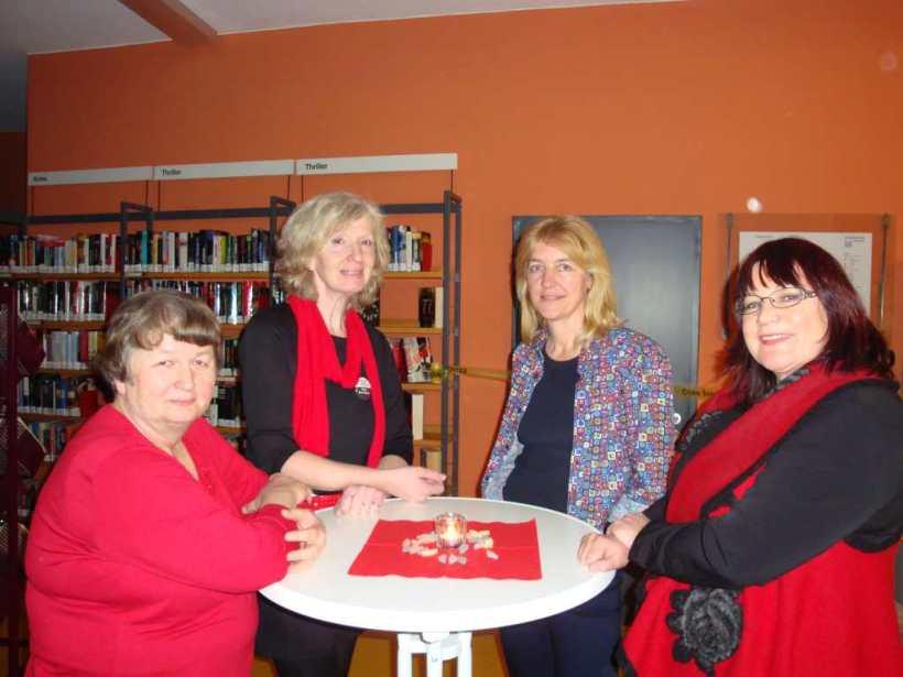 Die lieben Kolleginnen in Worms - Rita Hausen, Heidi Moor-Blank, Antje Fries, Ingrid Reidel