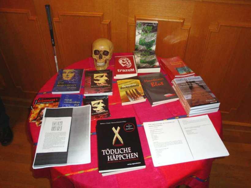 Der Büchertisch in Speyer
